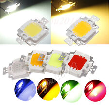 10W 30W 50W 100W Watt Multi Color High Power LED Chip Flood Light Lamp DIY NEW