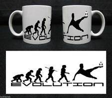 EVOLUTION OF MAN PERSONALISED MUG GREAT GIFT CAN ADD YOUR OWN IMAGES AND TEXT