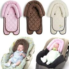 SUNSHINE KIDS 2in1 BABY PLUSH HEAD SUPPORT CUSHION FLEECE PRAM CAR SEAT COVER