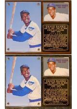 Ernie Banks #14 Mr Cub Hall of Fame Chicago Cubs Photo Card Plaque Let's Play 2