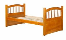 100% Solid Wood York Twin Bed. Trundle, Drawers,Rail Guard Sold Separately