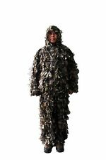 3-D Military Camouflage Woodland Green Leaf Camo Ghillie Suit Hunting Blind Net