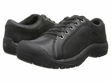 NEW!! Keen Men's BRIGGS Leather Shoes - Black - 1011394