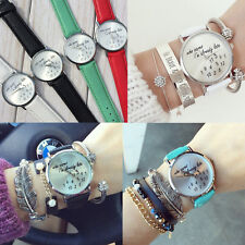 I'm already late women's men's Leather Fashion trendy newest Girl Watch