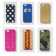 Kate Spade Jack Spade Iphone 5 5S Case Hardshell Gap Kids ~ CHOOSE FROM 6 ~ NEW