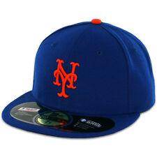 New York METS HOME Game Royal Blue New Era 59FIFTY Fitted Caps MLB On Field Hats