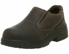 Men`s Timberland Pro Titan New Slip On Safety Shoes Brown 53534 8 8.5 9 9.5 11