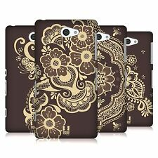 HEAD CASE DESIGNS HENNA HARD BACK CASE FOR SONY XPERIA Z2a D6563