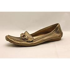 Coach Fortunata Moc Leather Loafers Shoes Used