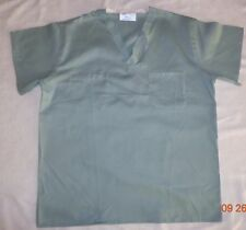 Unisex Reversible Scrubs Hospital Medical Uniform Top Misty Sz Small 1 to 4 pc