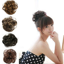 Wave Hair Ponytail Holders Scrunchy Bun Extensions Hairpiece