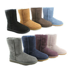 Ugg Australia Classic Short Womens Regular Suede Winter Boots