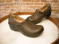 Born Toby Brown Leather Slip on Shoe NEW