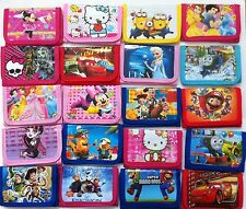 Children girls boys fold carton purse wallet Christmas party gift bag filler