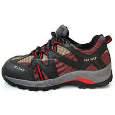 Mens Safety Steel Toe Cap safety shoes work boots Synthetic Fabric Non-Slip