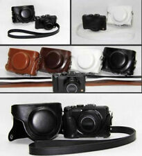 Leather Camera Case Bag Guard For Protector Panasonic Lumix DMC-LX7 LX7 LX5