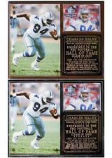 Charles Haley 2015 Pro Football Hall of Fame Photo Plaque Dallas Cowboys