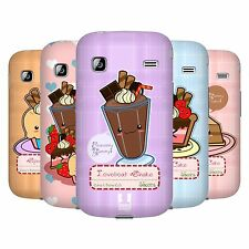 HEAD CASE DESIGNS KAWAII CAKES AND SHAKES CASE FOR SAMSUNG GALAXY GIO S5660