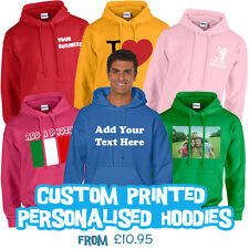 Personalised Custom Printed Hoodies