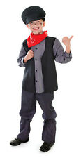 Victorian Edwardian Chimney Sweep Kids Boys Girls Film Costume Outfit New 6 8 10
