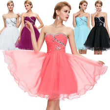 SEMI Party Short Prom Dresses Graduation Formal Bridesmaid Cocktail Dresses Gown