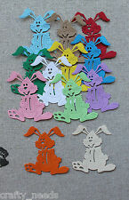 Scrapbooking * Easter BUNNY, Rabbit  Die Cuts Toppers, Embellishments  *  X10 PC