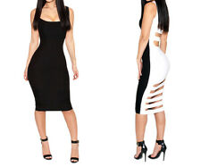Women Sleeveless Bandage Prom Clubwear Bodycon Cocktail Party Evening Dress Hot
