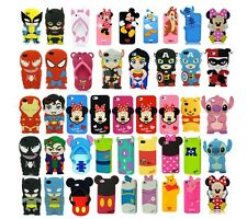 3D Cartoon Superhero Soft Silicone Rubber Case Cover For Apple & Samsung Galaxy%