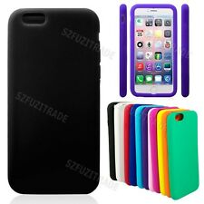 Fashion Smooth Soft Silicone Rubber Protect Case Cover Shell For iPhone 6 4.7""
