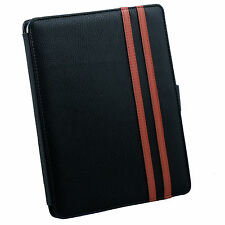 New PU Leather Case Pouch Kick Stand For Apple iPad  +Stylus BK