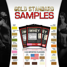 Optimum Nutrition Gold Standard 100% Whey Protein Samples