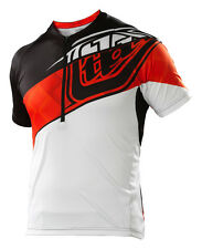 NEW 2015 TROY LEE DESIGNS TLD ACE MTB DOWNHILL BMX JERSEY ELITE RED ALL SIZES