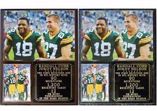 Jordy Nelson-Randall Cobb NFL Record Photo Plaque Green Bay Packers