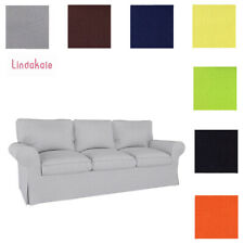 Custom Made Cover Fits IKEA EKTORP Sofa, Three-Seat Sofa, Replace Sofa Cover