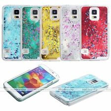 Dynamic Liquid Glitter Stars Paillette Quicksand Case Cover For Samsung Galaxy