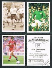 PANINI 'The All Time Greats' (1990) #1 to #80 UK Football Stickers