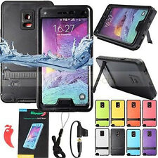 Waterproof/Shockproof/Dirtproof Hard Case Stand For Samsung Galaxy Note 4 N9100