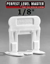 """1/8"""" PERFECT LEVEL MASTER Professional tile leveling system wall & floor spacers"""