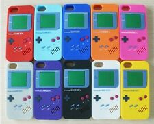 Retro Gameboy Silicone Skin Case Cover iPhone 5 5S Colour Choice Screen Guard