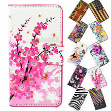 Fashion Phone Leather Flip Stand Wallet Case Cover For LG L70 L90 G2 Mini G2