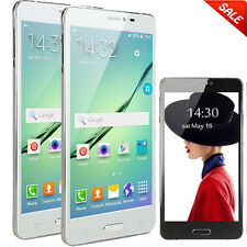 """5.5"""" Android ROM 4GB Unlocked 3G/WCDMA/GSM 2Sim 2Core Smart Cellphone GPS AT&T"""