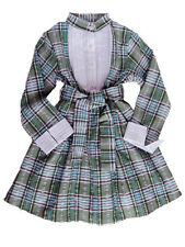 Ses Petites Mains Cotton Plaid Girls Dress Sizes 2T-8 $74- $82 NWT CLEARANCE
