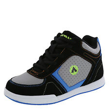 Airwalk Boy's Shoes PRO MID Skate Sneaker GRAY
