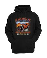 Main Street of America Route 66 Pullover Hoodie Sweatshirt Hooded