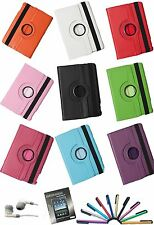 New 360 Rotating PU leather Case Cover Stand for Apple iPad air 5 Folio Cover
