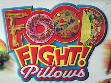 New Decorative Novelty Throw Pillows Food Fight! 10 Different Choices Fun