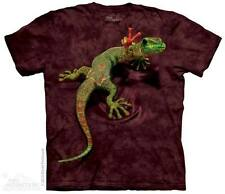 THE MOUNTAIN PEACE OUT GECKO ANIMAL NATURE WILD HIPPIE LIZARD T TEE SHIRT S-5XL