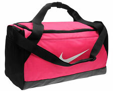 Nike Gym Bag Pink Ladies Grip Sports Overnight Travel Holdall Duffle Bag
