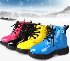 Hot Cute Baby Girls Boys Boots Shoes Childrens Kids Water-proof Colorful