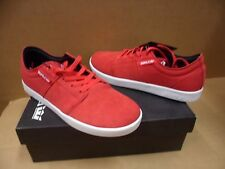 Supra Men's Stacks Red / White Terry Kennedy Skateboarding Shoes